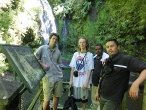 La cascade sacrée