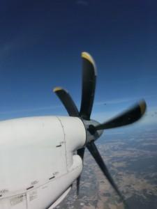 En avion !