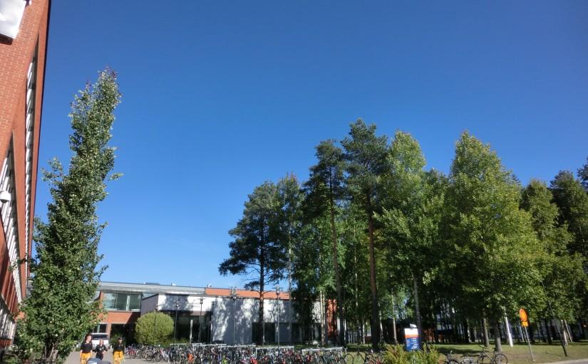 Premiers jours à l'université d'Oulu !